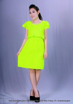 Gianni Bini Đầm Neon Xanh