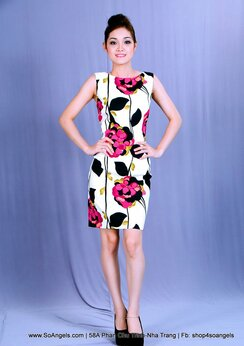 AGB Đầm Trắng Hoa