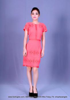 Antonio Melani Đầm Cam Thêu