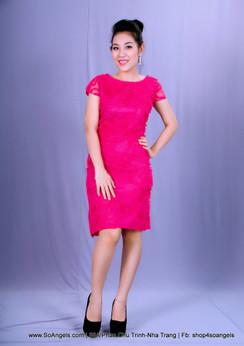 Antonio Melani Đầm Hoa Hồng