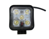 15 Watt Mini Flood Beam Square Housing LED Work Light