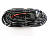 WIRING LOOM  HARNESS FOR 1 LIGHT COMPLETE KIT (Heavy duty)