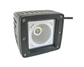 15 Watt  Flood Beam Square Housing Miniature LED Work Light