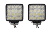 48 Watt Flood Beam Square Housing LED Work Light  ** 2 PACK **