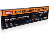 GME TX3100VP 5 WATT SUPER COMPACT UHF CB RADIO - STARTER KIT