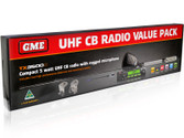 GME TX3500SVP 5 WATT COMPACT UHF CB RADIO - VALUE PACK