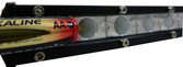 "07"" ULTRA SLIM  LIGHT BAR 18 WATT  6X3W CREE LED's FLOOD BEAM"