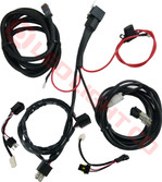 SMART WIRING LOOM  HARNESS FOR 1 LIGHT COMPLETE KIT (Heavy duty)