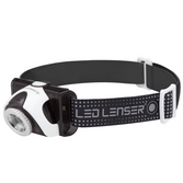 Led Lenser SEO 5R grey reflective headband / Rechargeable Battery / USB Charge
