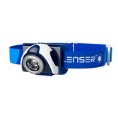 Led Lenser SEO 7R grey reflective headband / Rechargeable Battery / USB Charge