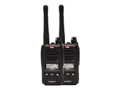 TX677TP 2 watt UHF CB handheld radio, twin pack