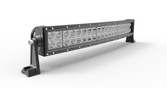 "CURVED DOUBLE ROW LIGHT BAR 21"" 120 WATT 40 X 3 WATT CREE LED's COMBINATION BEAM"