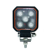 25 WATT SQUARE LED MINI WORK LIGHT (Two lights)