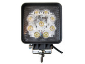 27 Watt Flood Beam Square LED Work Light