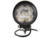 27 Watt Flood Beam Round LED Work Light