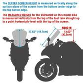 National Cycle VStream Windshield, 12.00in. - Dark Tint YAMAHA FJ-09 N20316