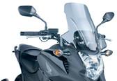 PUIG 5992H Touring Windscreen, Light Smoke for 12-15 Honda NC700X