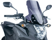 PUIG 5992F Touring Windscreen, Dark Smoke for 12-15 Honda NC700X