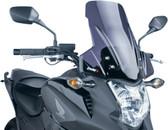 PUIG 5992F Touring Windscreen, Dark Smoke for 12-15 Honda NC700X