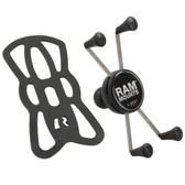 "RAM MOUNT X-GRIP IV LARGE PHONE/PHABLET HOLDER W/1"" BALL  RAM-HOL-UN10BU"