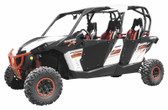 Dragonfire Racing Doors Hi Boy Black 07-2001 13-19 Commander Max 15-17 Mav Max