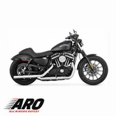 Vance & Hines Straightshots Hs Slip-Ons Chrome 16863 Fits 2014 H-D Sportster