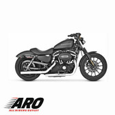 Vance & Hines Straightshots  Slip-Ons Chrome 16819 Fits 2004-2013 H-D Sportster