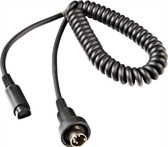 J&M 787 Z-Series Headset Cord Lower for 80-15 Honda, J&M 80-00 5-Pin Systems