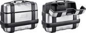 Givi Trekker Monokey Side Cases 33 Liter Silver PAIR TRK33PACK2A 20.7X9.5X16.2