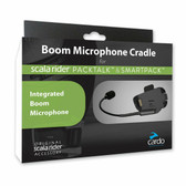 Cardo Boom Microphone Cradle for PackTalk and SmartPack Systems, SPPT0002
