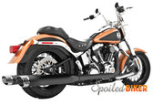 Freedom Performance Racing Duals Complete Black HD00221 Fits 97-06 SOFTAIL