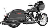Freedom Performance American Outlaw True Dual Black HD00287 Fits 09-13 FL