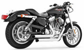 Freedom Performance Declaration Turn-Outs Chrome HD00401 Fits 04-15 SPORTSTER