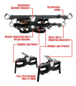 Seizmik Ohgr 2 Gun Rack Pro-Fit Clamp For Full Size Pro Fit Ranger 07302