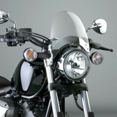 National Cycle Flyscreen®; Chrome; Light Tint N2554-001 41-51MM FORKS