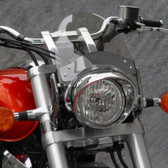 National Cycle Flyscreen®; Chrome; Light Tint N2556-001 41-51MM FORKS