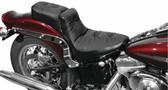 Mustang One-Piece Regal Duke Seat - Harley-Davidson Softail