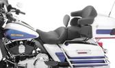 Mustang Heated Super Touring Seat Driver Backrest for HD® FLHR, FLHX, FLHT FLHTR