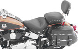 Mustang Wide Touring One-Piece Studded Seat for HD Softail Std Rear Tire