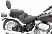 Mustang One-Piece Vintage Seat - Harley-Davidson FXST, FLSTF & FLSTSB Softail
