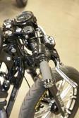 RSD Gauge & Headlight Re-Locator Black Anodize 0207-2001-B