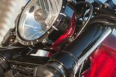 RSD Smoothie Upper Fork Cover Gloss-Black 0208-2084-B