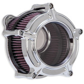 RSD Clarion Air Cleaner Chrome 0206-2126-CH Twin Cam & Evo 93-16