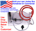 "1 Faucet Build Your Own Jockey Box! - 8"" x 14"" Cold Plate, one Faucet"