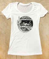 Skate Oasis Girls T-Shirt - White