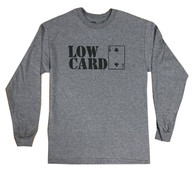 Stacked Longsleeve T-Shirt - Heather Grey
