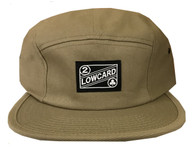 Traveler 5 Panel Hat - Khaki