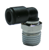 "P14414 - Push-In Swivel Elbow 1/4""M x 1/4"""