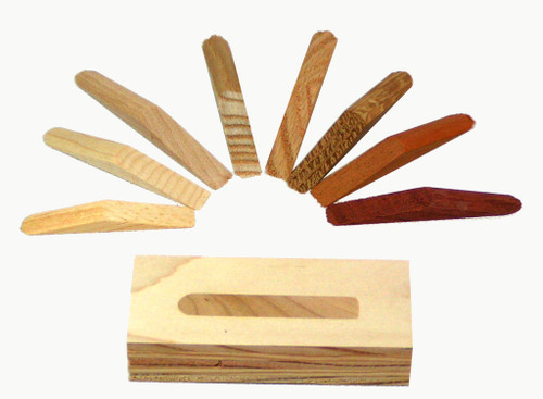 "White Oak Wood Plugs For 5/16"" Pocket Holes, 25 pieces"