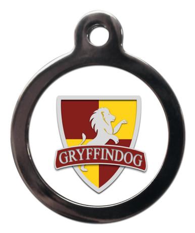 Gryffindog Pet ID Tags